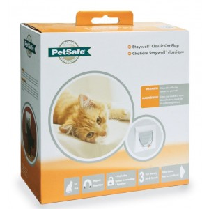 Staywell 932 Magnetic 4 way Catflap Kattenluik