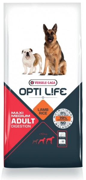 Opti Life Adult Digestion Medium/Maxi hondenvoer