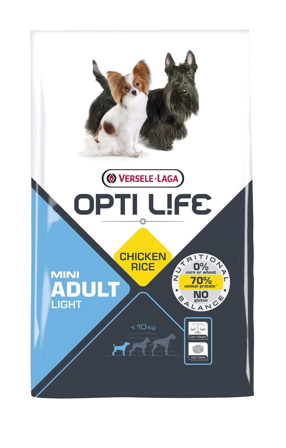Opti Life Adult Light Mini hondenvoer