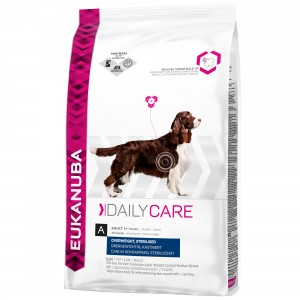 Eukanuba Daily Care Overweight, Sterilised hondenvoer