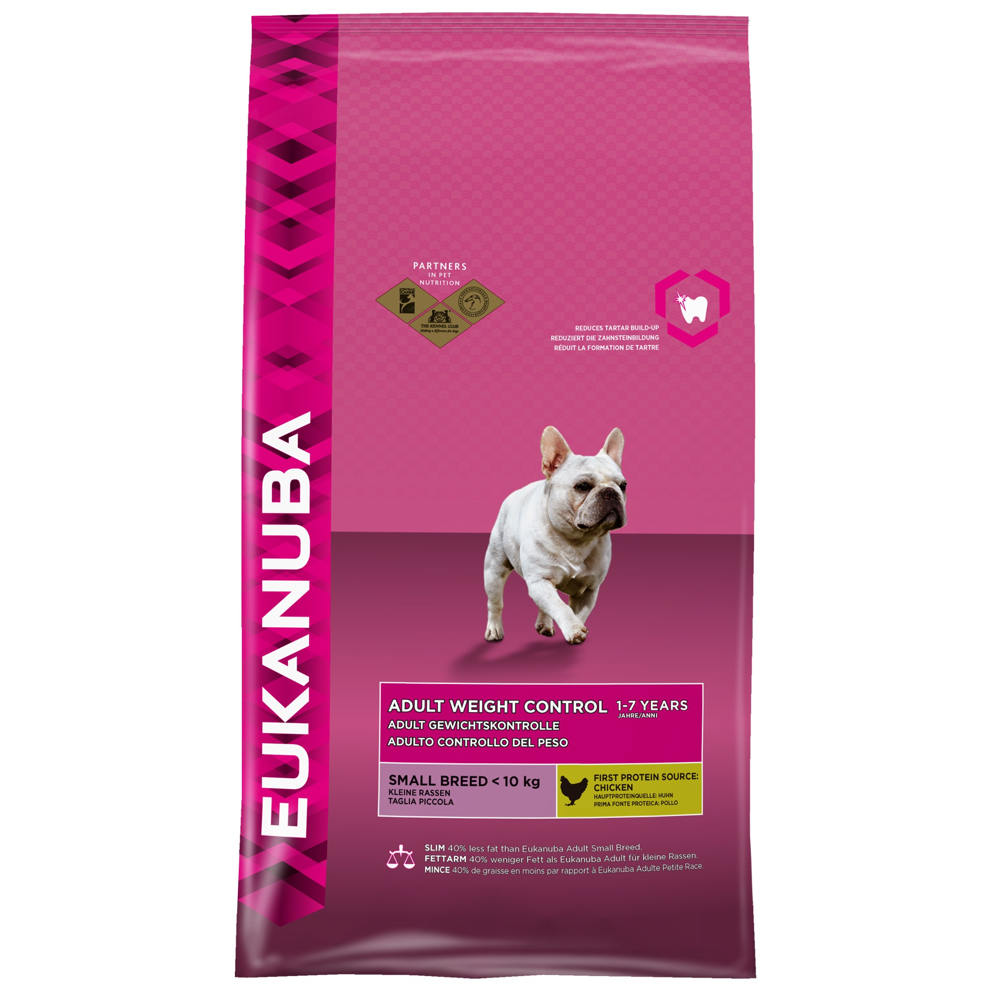 Eukanuba Adult Weight Control Small Breed hondenvoer