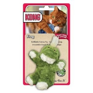 Kong Catnip Toy Frog