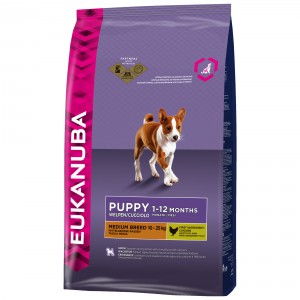 Eukanuba Puppy Medium Breed hondenvoer