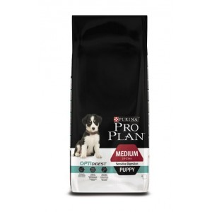 Pro Plan Puppy Medium Sensitive Digestion Optidigest Hondenvoer
