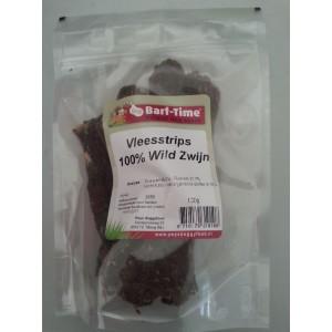 Barf-Time Vleesstrips Wild Zwijn hondensnacks
