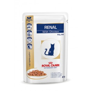 Royal Canin Veterinary Diet Renal Chicken (zakjes) kattenvoer