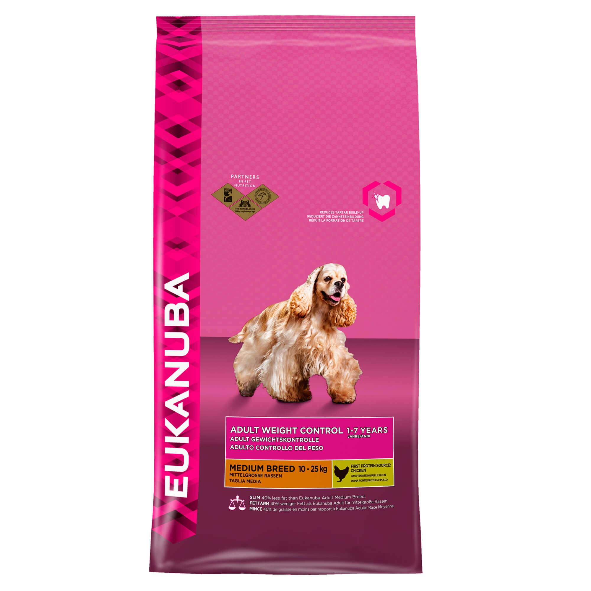 Eukanuba Adult Weight Control Medium Breed hondenvoer
