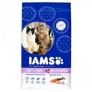 Iams Multi-Cat kattenvoer
