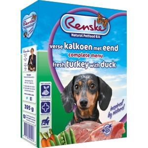 Renske Vers Kalkoen en Eend hondenvoer