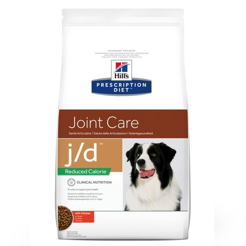 Hill's Prescription J/D Joint Care Reduced Calorie hondenvoer