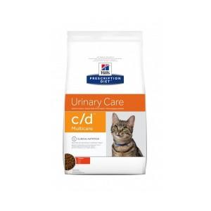 Hill's Prescription C/D Urinary Care kattenvoer combi Kip 5kg - Ocean Fish 5kg