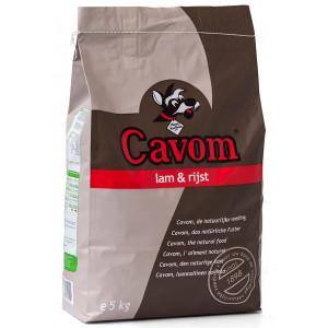 Cavom Compleet Lam/Rijst hondenvoer
