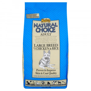 Nutro Choice Large Breed Kip & Rijst hondenvoer
