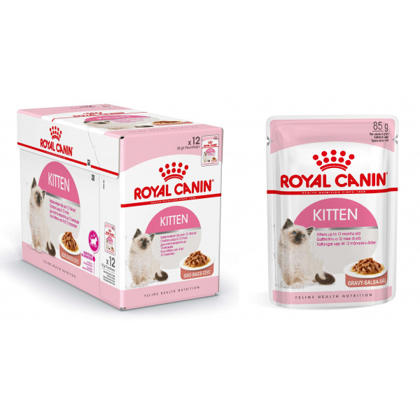 royal canin pouch kitten instinctive kattenvoer. Black Bedroom Furniture Sets. Home Design Ideas