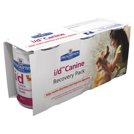 Hill's Prescription Diet I/D (i/d) Recovery Pack hond (3 x 360 g)