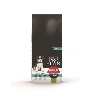 Pro Plan Optidigest Medium Puppy Sensitive Digestion Lam hondenvoer