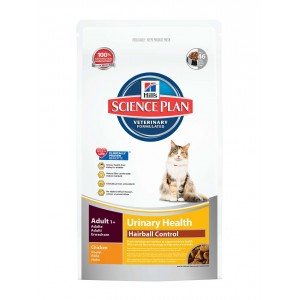Hill's Adult Urinary Health Hairball Control kattenvoer