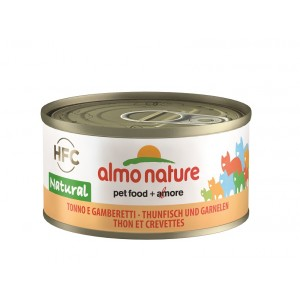 Almo Nature Natural Tonijn en Garnalen 70 gram