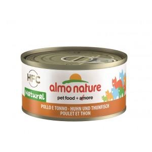 Almo Nature Natural Kip en Tonijn 70 gram
