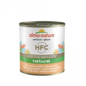 Almo Nature HFC Natural Kip & Zalm 280 gram