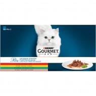 Gourmet Perle Mini Filets in Saus 60x85g zakjes kat