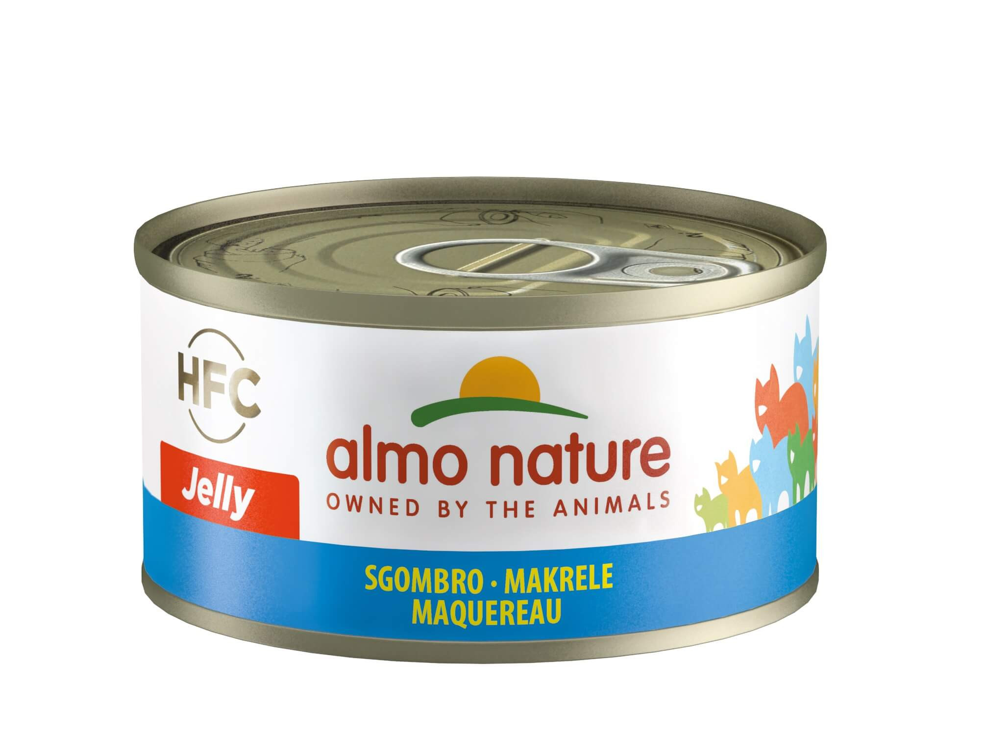 Almo Nature HFC Jelly Makreel 70 gram