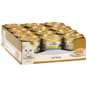 Gourmet Gold mousse met tonijn kattenvoer (blik  85 g)