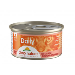 Almo Nature Daily Mousse met Zalm 85 gram