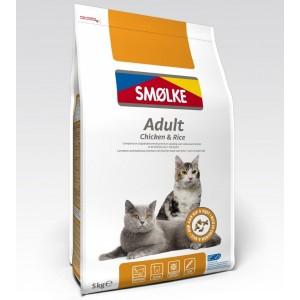 Smølke Adult Chicken & Rice kattenvoer