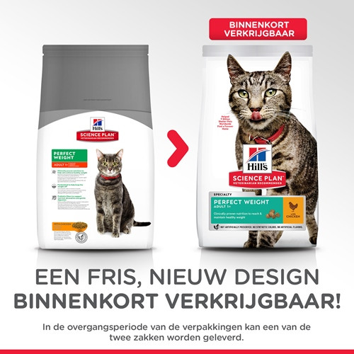 Hill's Adult Perfect Weight kip kattenvoer