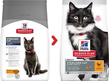 Hill's Sterilised Mature Adult 7+ kattenvoer