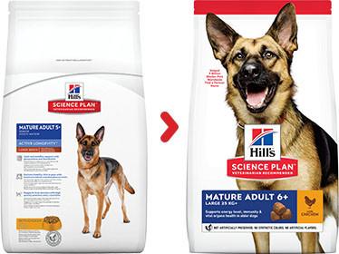 Hill's Mature/Adult 6+ Largebreed Kip hondenvoer