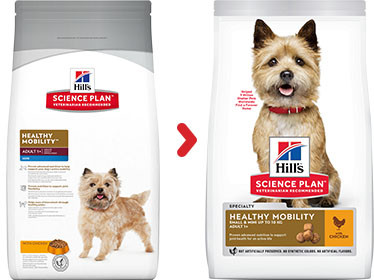 Hill's Adult Healthy Mobility Small & Mini kip hondenvoer