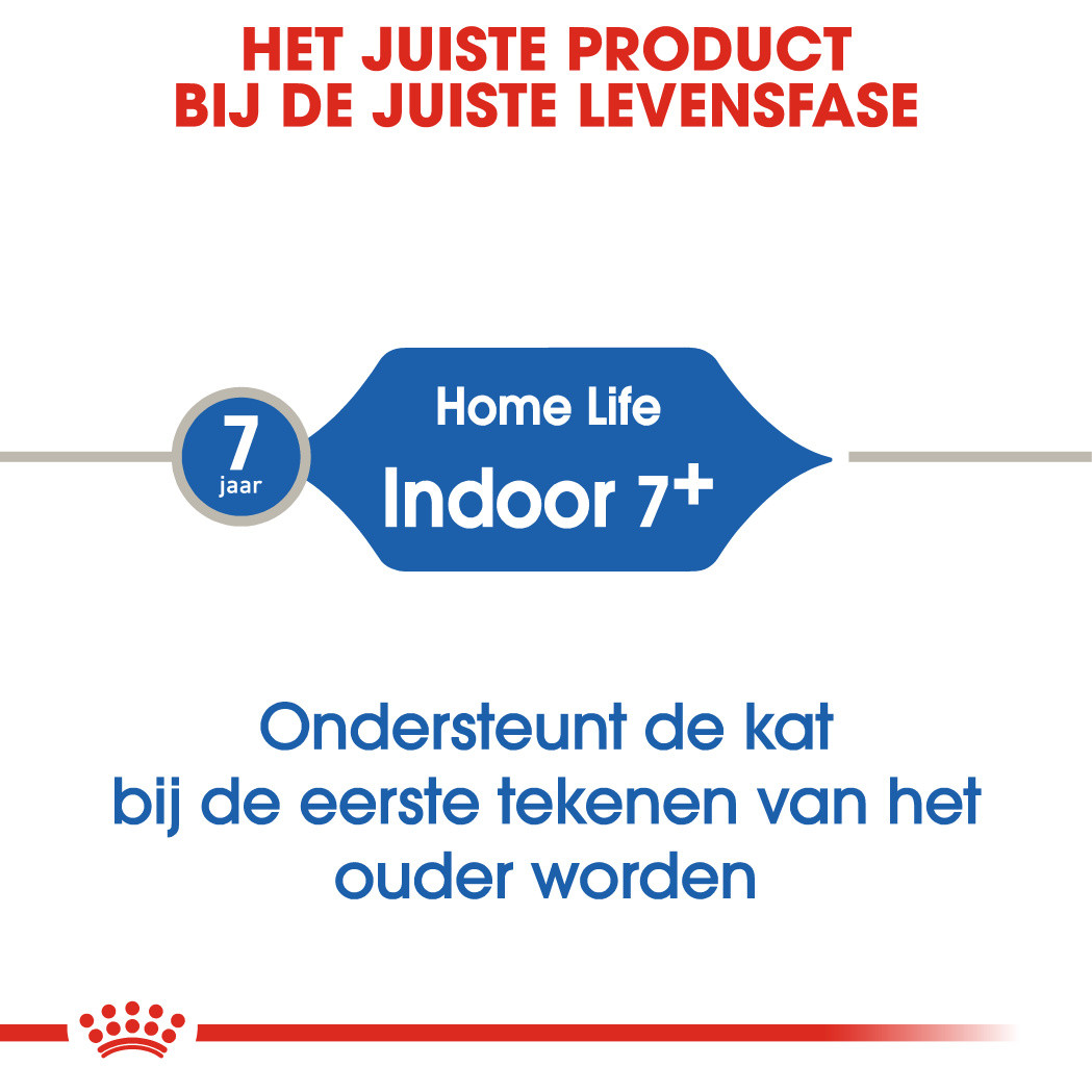 Royal Canin Indoor 7+ kattenvoer