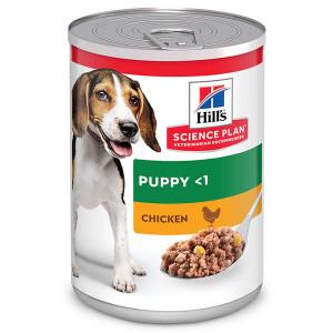 Hill's Puppy kip nat hondenvoer (blik 370g)