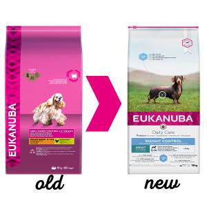 Eukanuba Daily Care Adult Weight Control Small/Medium hondenvoer