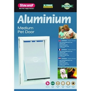 Staywell 620 Medium Aluminium Pet Door